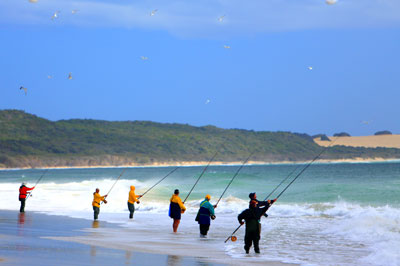 Fraser Island fishing, Eliza Fraser lodge eco-tourism